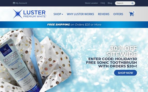 Luster Premium White
