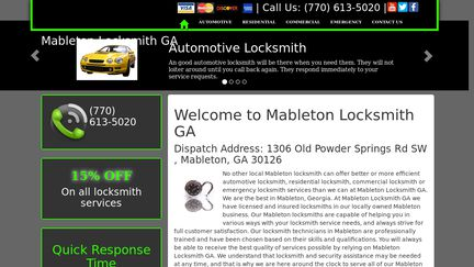 Mableton Locksmith GA