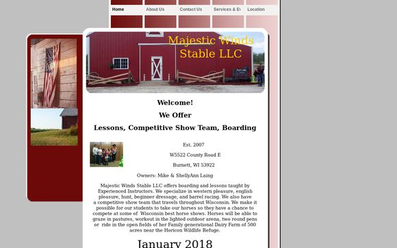 Majestic Winds Stable LLC.