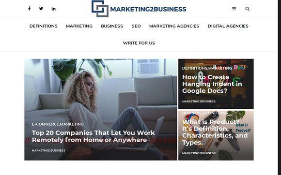 Marketing2business.com