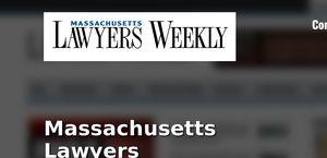 Massachusettes Lawyers Weekly