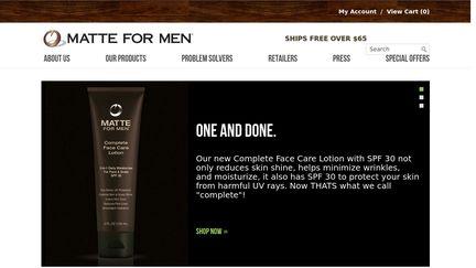 Matte for Men