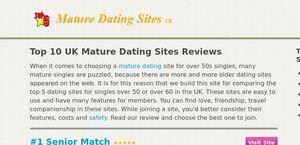 Maturedatingsitesuk.co.uk