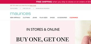 3fbe9d806ce Maurices Reviews - 107 Reviews of Maurices.com