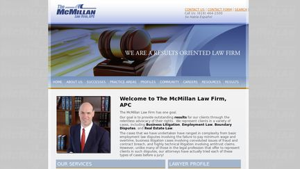 The McMillan Law Firm