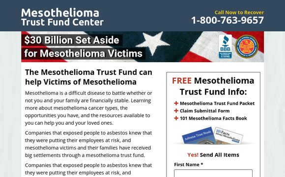 Mesothelioma Trust Funds Can Help Victims Of Mesothelioma