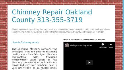 Michigan Chimney Repair