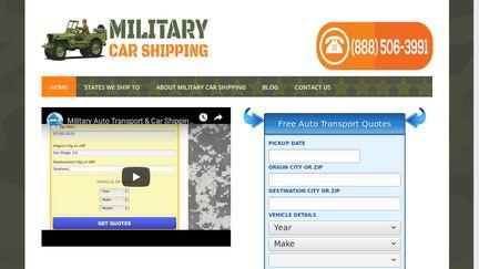 MilitaryCarShipping