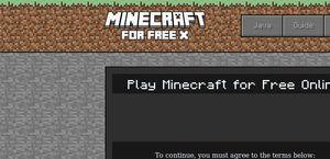 MinecraftForFreeX