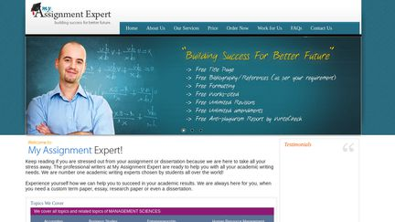 MyAssignmentExpert.co.uk