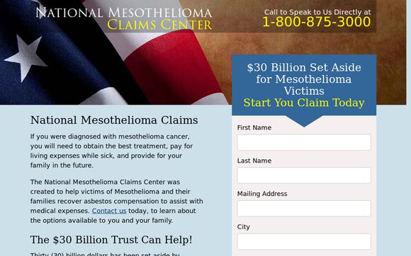 National Mesothelioma Claims Center
