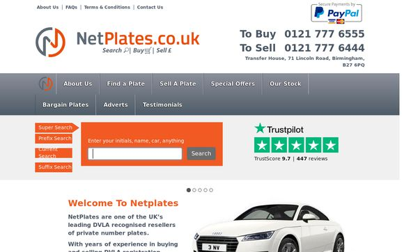 Netplates.co.uk