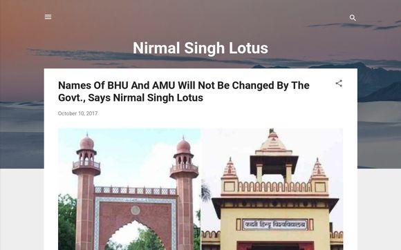 Nirmal Singh Lotus