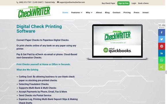 Online Check Writer