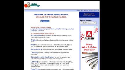 Online Conversion