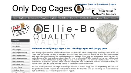 Only-dog-cages.co.uk