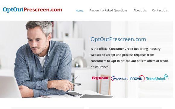 Opt Out Prescreen