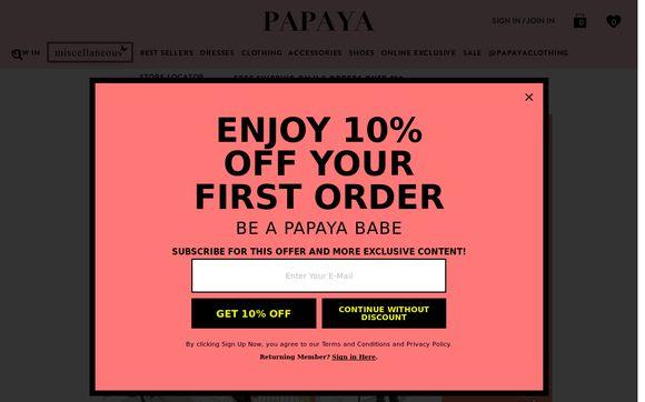 Papaya Clothing