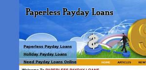 Paperlesspaydayloans.us
