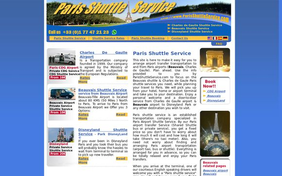 ParisShuttleService