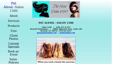 PAT ALESSI - SALON 1580
