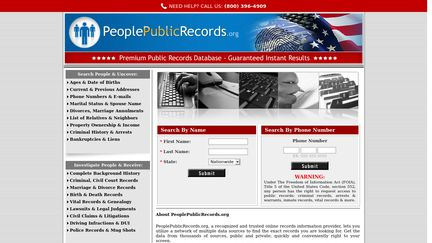 PeoplePublicRecords.org
