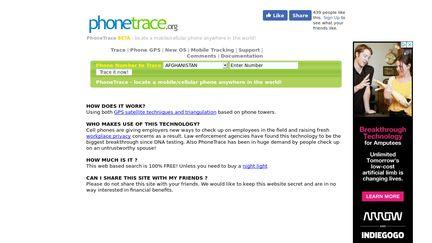 PhoneTrace.org