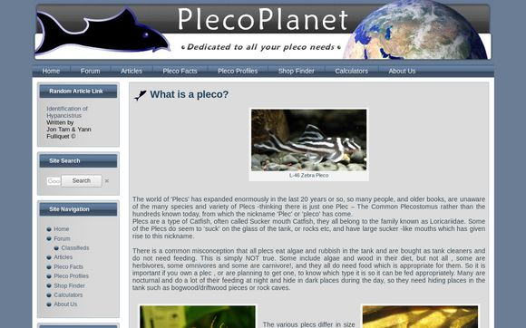 PlecoPlanet