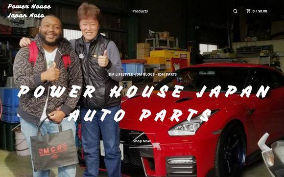 Power House Japan Auto  — Home