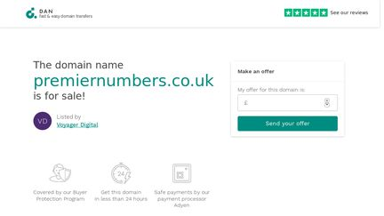 PremierNumbers.co.uk