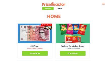 PrizeReactor