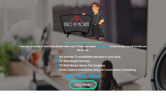 Pro Tv Mount