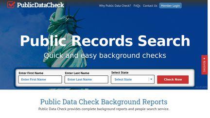 Public Data Check