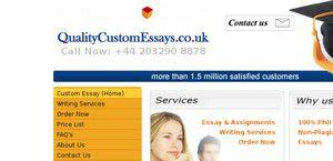 QualityCustomEssays.co.uk