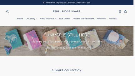 REBEL RIDGE SOAPS