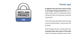 Reclaimprivacy.org