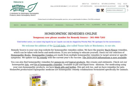 Homeopathic Remedies Online