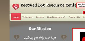 Rescueddogresourcecenter.com
