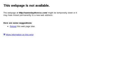 Samedaydivorce.com