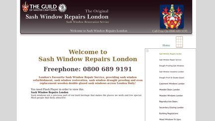 Sashwindowrepairs-london.co.uk