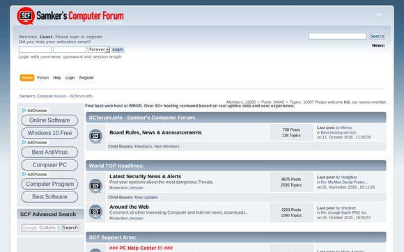 Sanker's Computer Forum