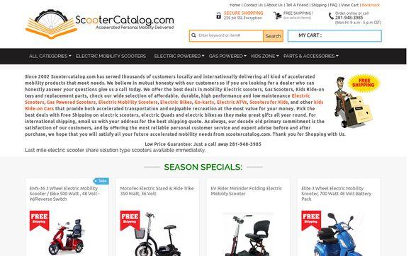 ScooterCatalog