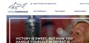 Shark.com - Official Site of Greg Norman