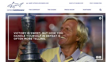 Shark.com - Official Site of Greg Norman