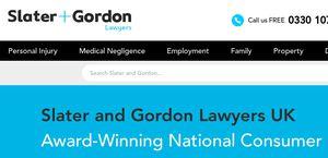 Slater and Gordon Lawyers UK