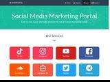 Social Media Marketing Portal