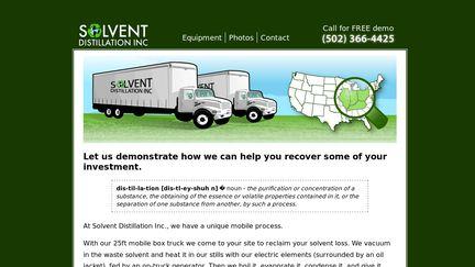 Solvent Distillation Inc