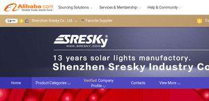 Shenzhen Sresky Industry Solar Light