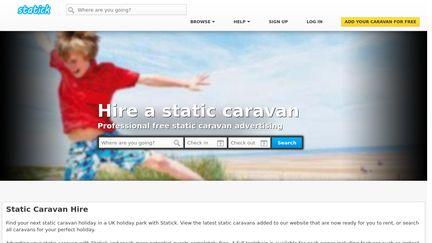 Static Caravan Hire