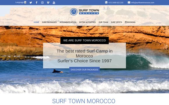 Surf Town Morocco